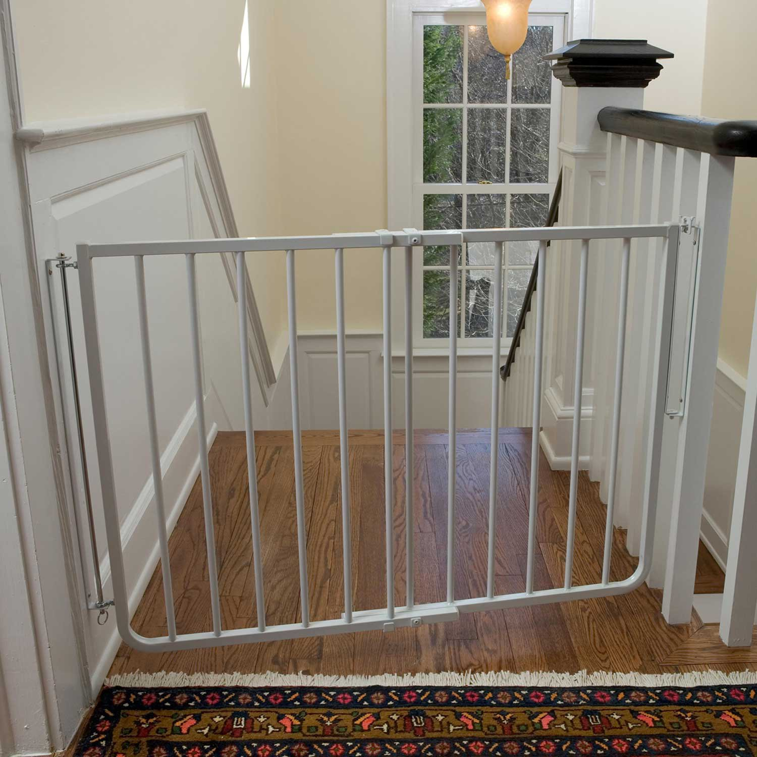 Cardinal Gates Stairway Special Gate In White | Petco