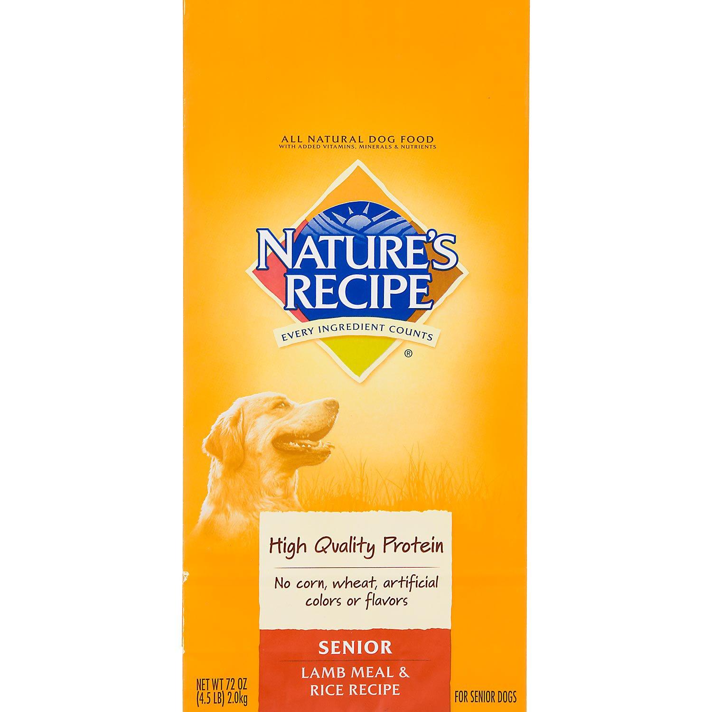 Nature S Recipe Senior Dog Food
