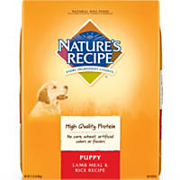 Nature's Recipe Puppy Lamb Meal & Rice Formula