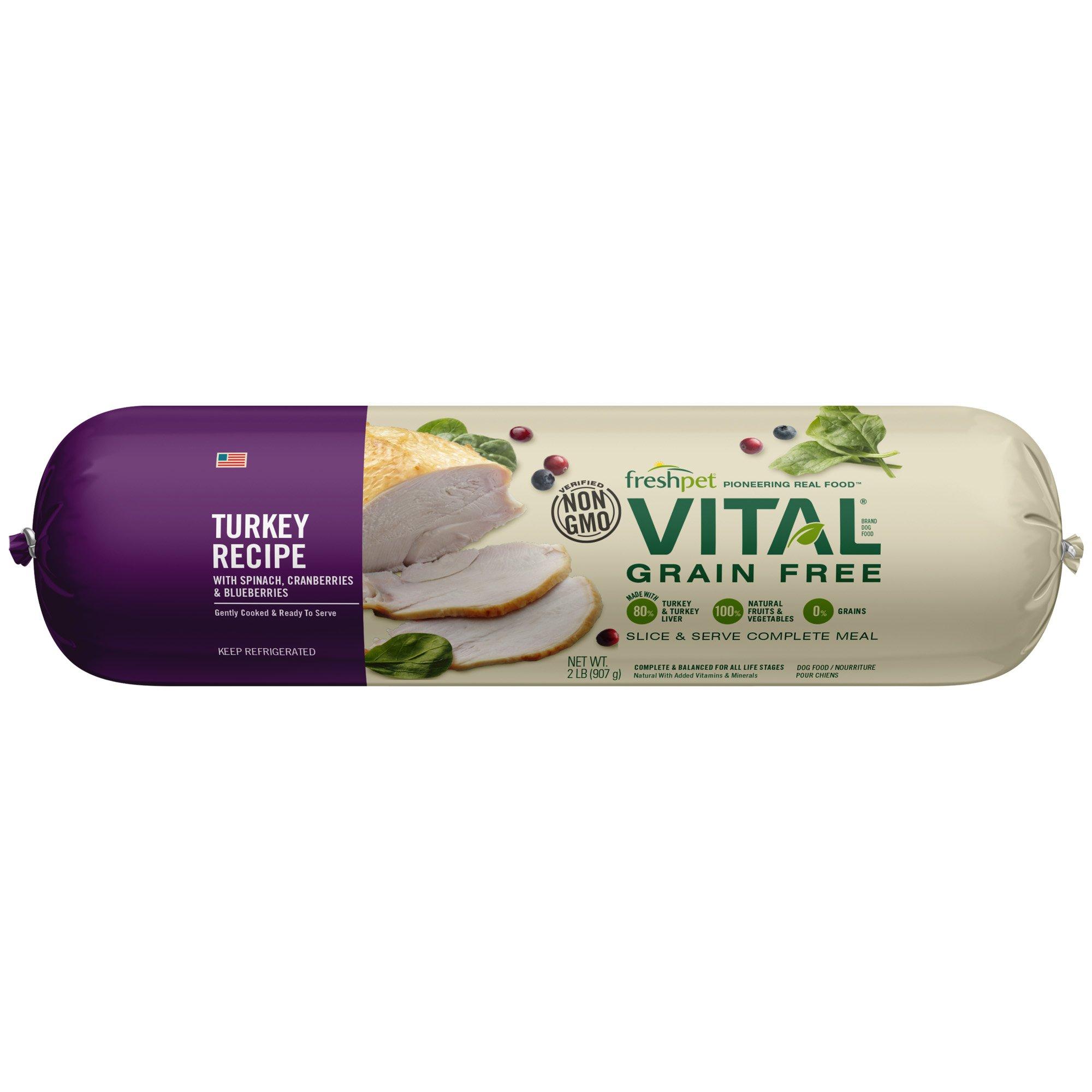Freshpet Vital Grain Free Dog Food