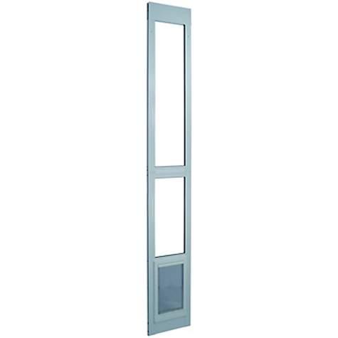 Perfect pet modular patio panel pet door in white petco eventshaper