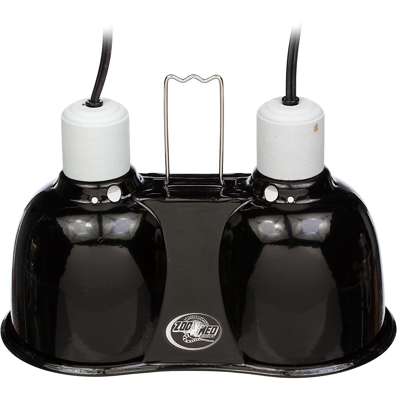 Zoo Med Mini Combo Deep Dome Lamp Fixture 5.5 L X 10 W X 7 H
