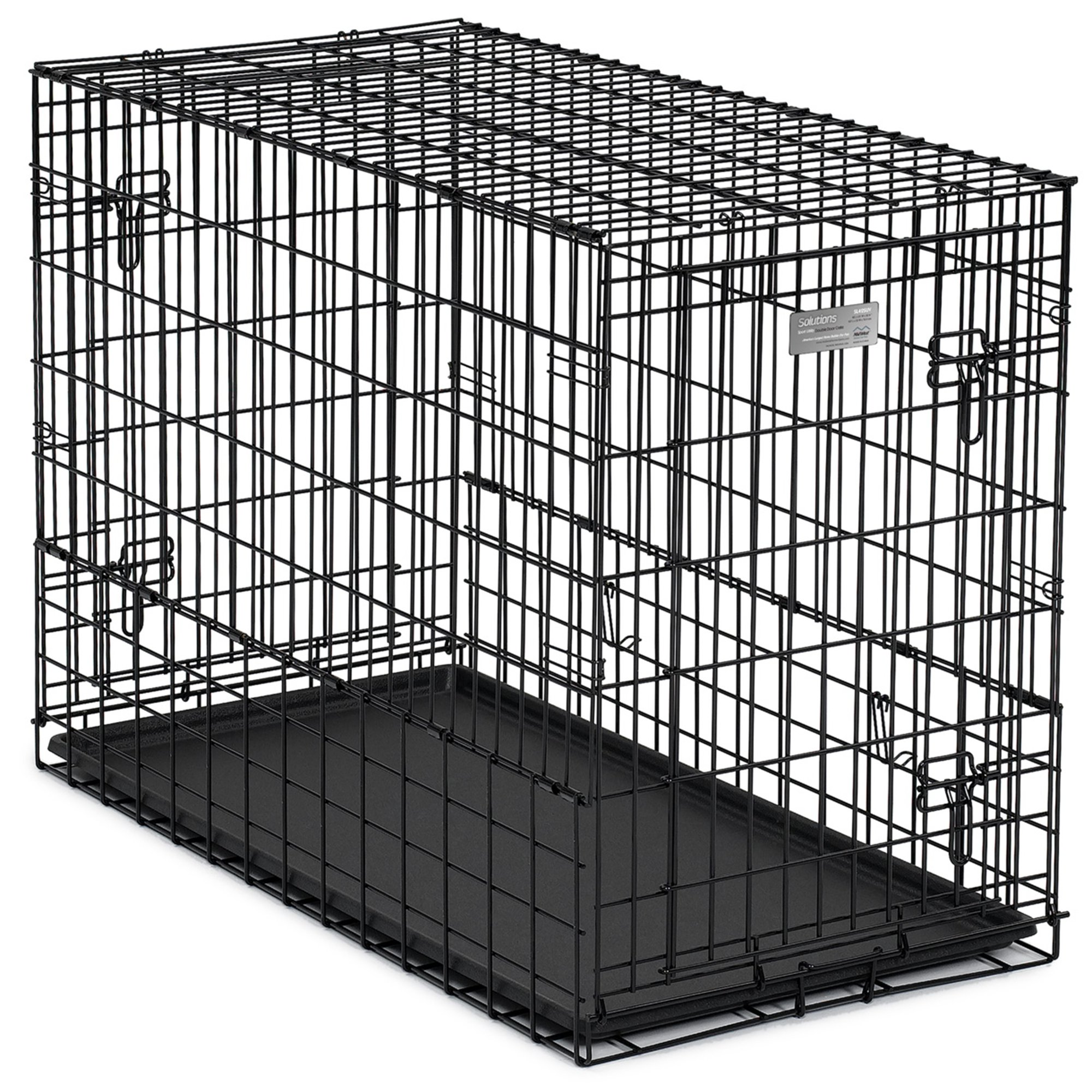 Midwest Solution Series Side By Side Double Door Suv Dog Crates Petco