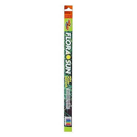 Zoo Med T-8 Flora Sun Max Plant Growth Fluorescent Bulb, 18inch
