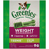 Greenies Weight Management Teenie Dental Dog Treats