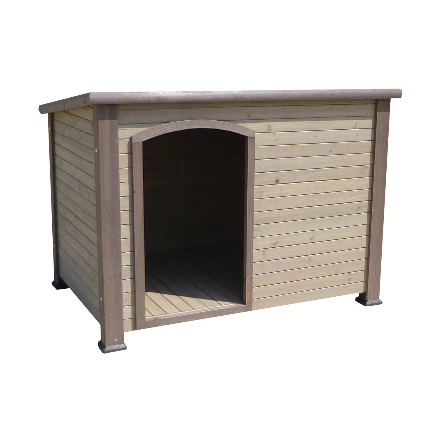 Precision Pet Extreme Outback Log Cabin Dog Houses In