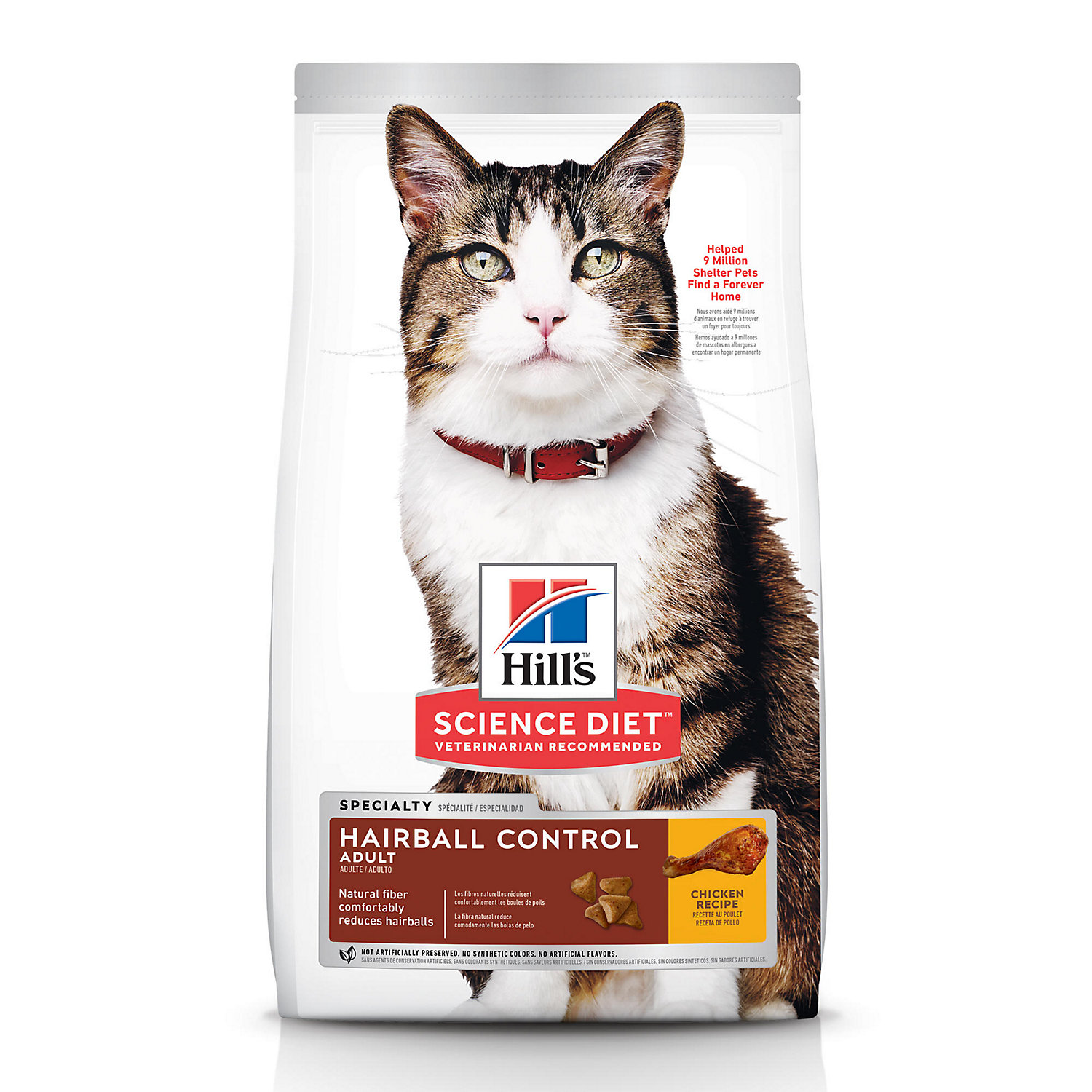 Hills Science Diet Hairball Control Adult Cat Food