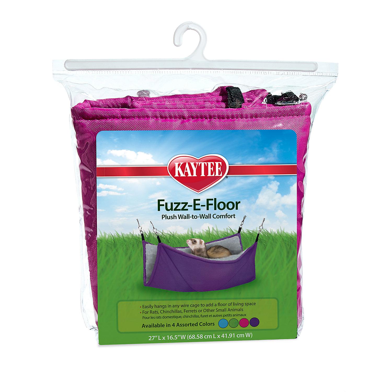 Kaytee Fuzz E Floor Sleeper Small Animal Hammock Multi Color