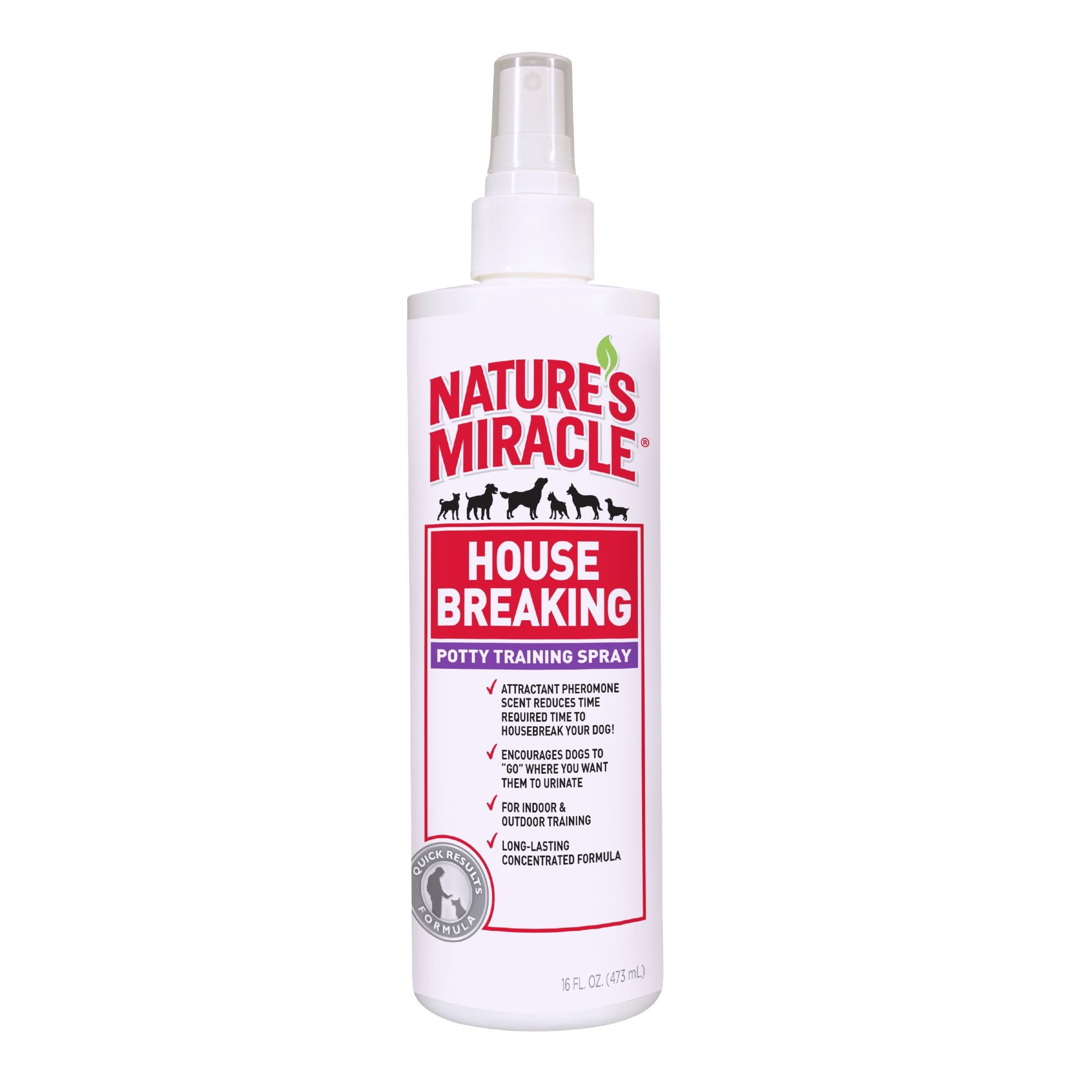 Nature S Miracle House Breaking Quot Go Here Quot Spray Petco