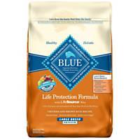 Blue Buffalo Chicken & Brown Rice Large Breed Senior Dry Dog Food
