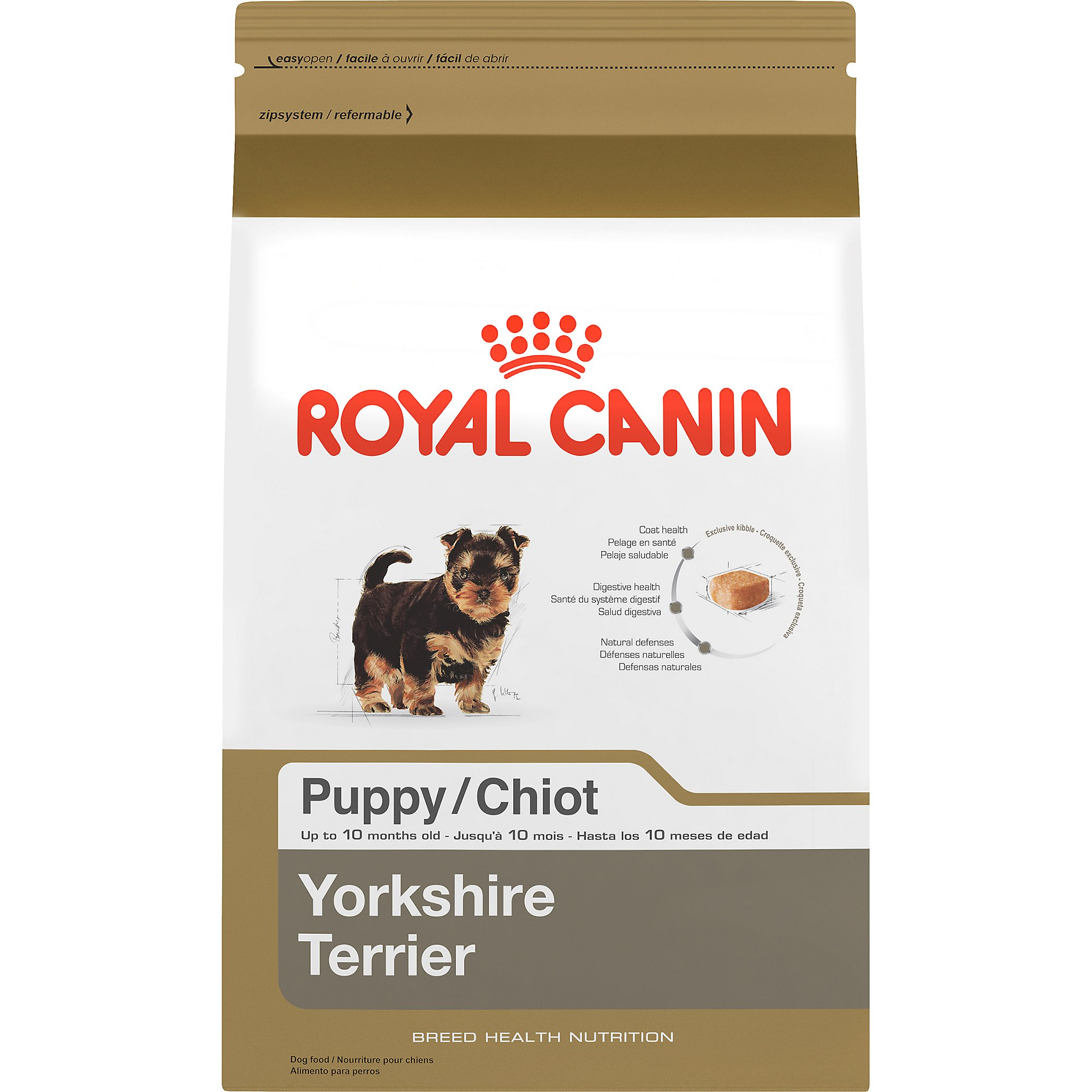 royal canin breed health nutrition yorkshire terrier puppy dry dog food petco. Black Bedroom Furniture Sets. Home Design Ideas