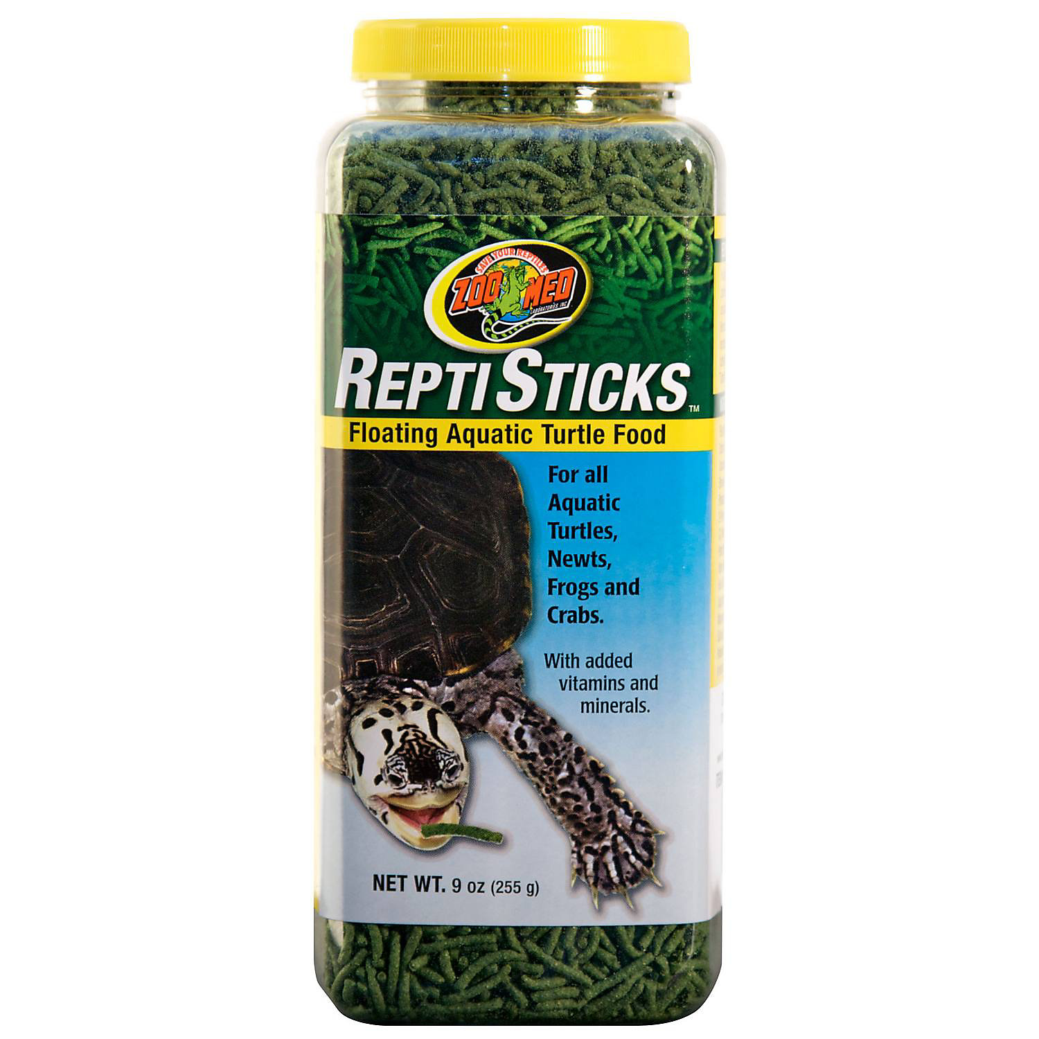 Zoo Med Reptisticks Floating Aquatic Turtle Food 9 Oz.
