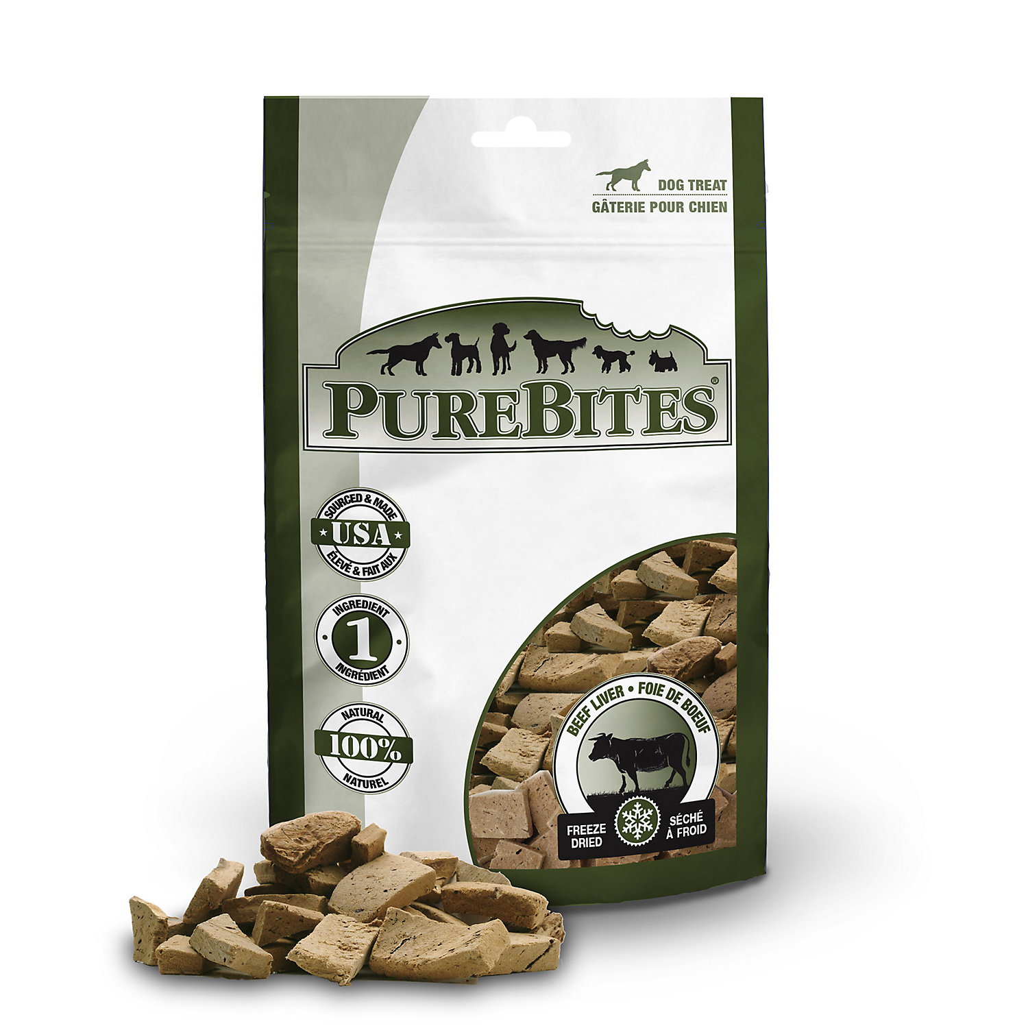 Image of Pure Bites Beef Liver Dog Treats