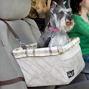 Solvit Tagalong Deluxe Booster Pet Car Seat