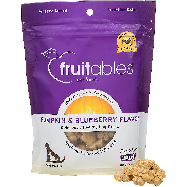 Fruitables Pumpkin & Blueberry Natural Dog Biscuits, 7 OZ