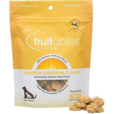 Fruitables Pumpkin & Banana Natural Dog Biscuits