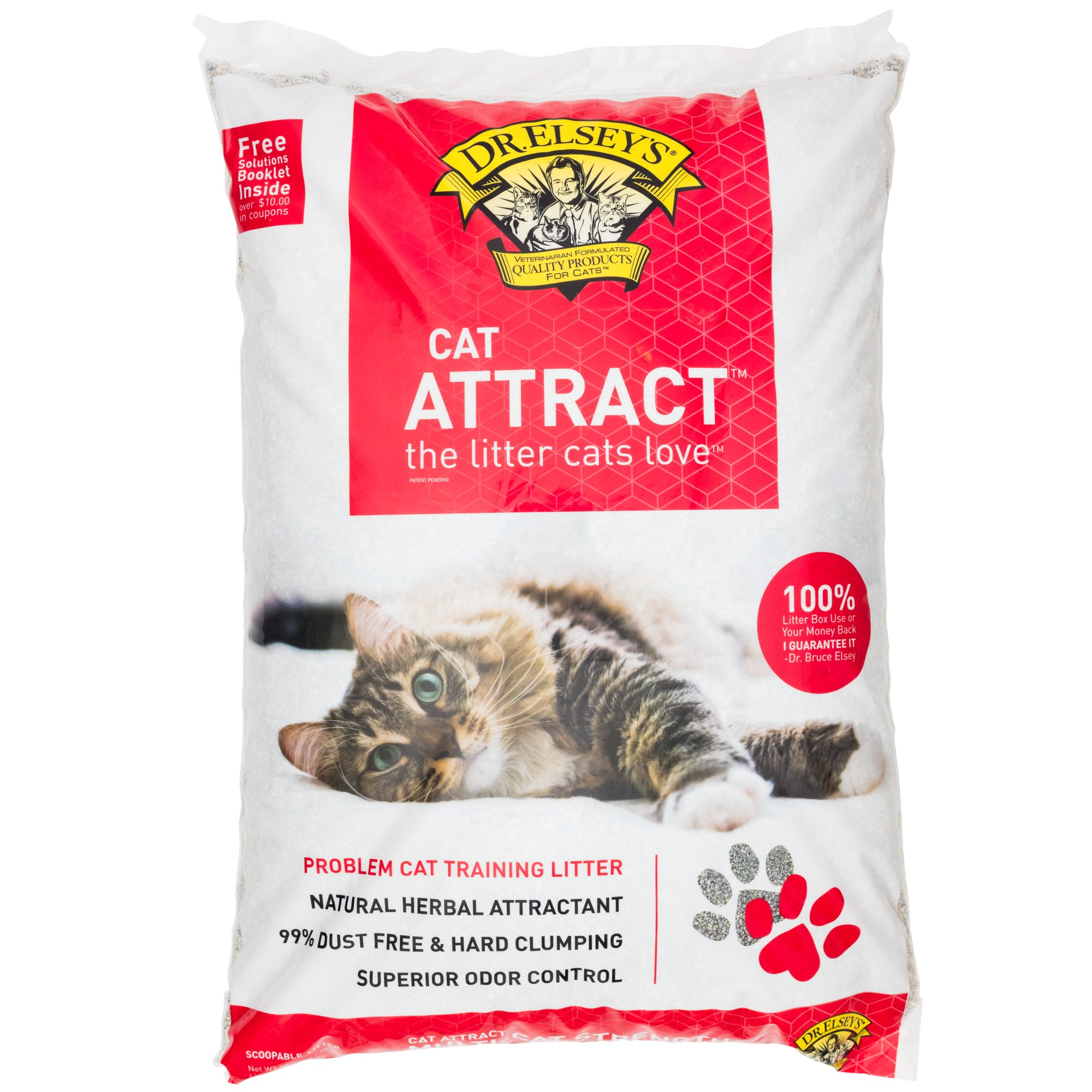 Precious Cat Dr Elsey S Cat Attract Scoopable Cat Litter