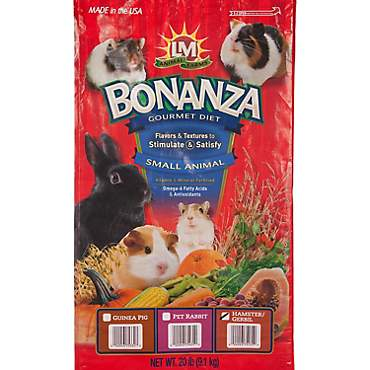 LM Animal Farms Bonanza Gourmet Diet Hamster and Gerbil Food