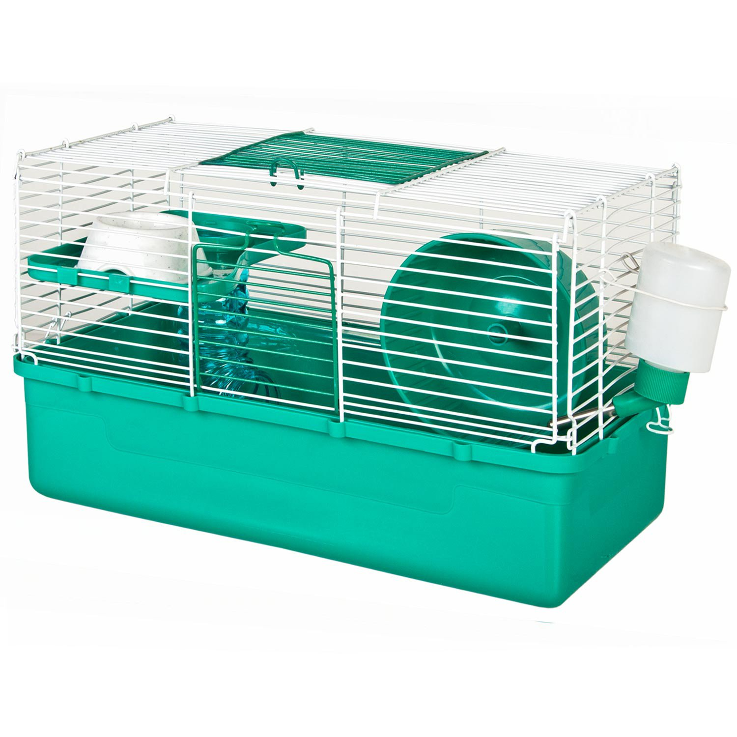 ware home sweet home teal 1 story hamster cage petco. Black Bedroom Furniture Sets. Home Design Ideas