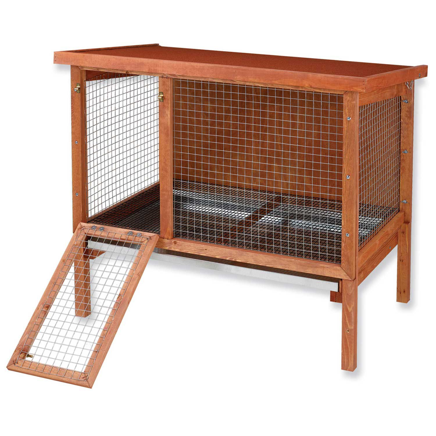 Ware hd large rabbit hutch petco for What is a rabbit hutch