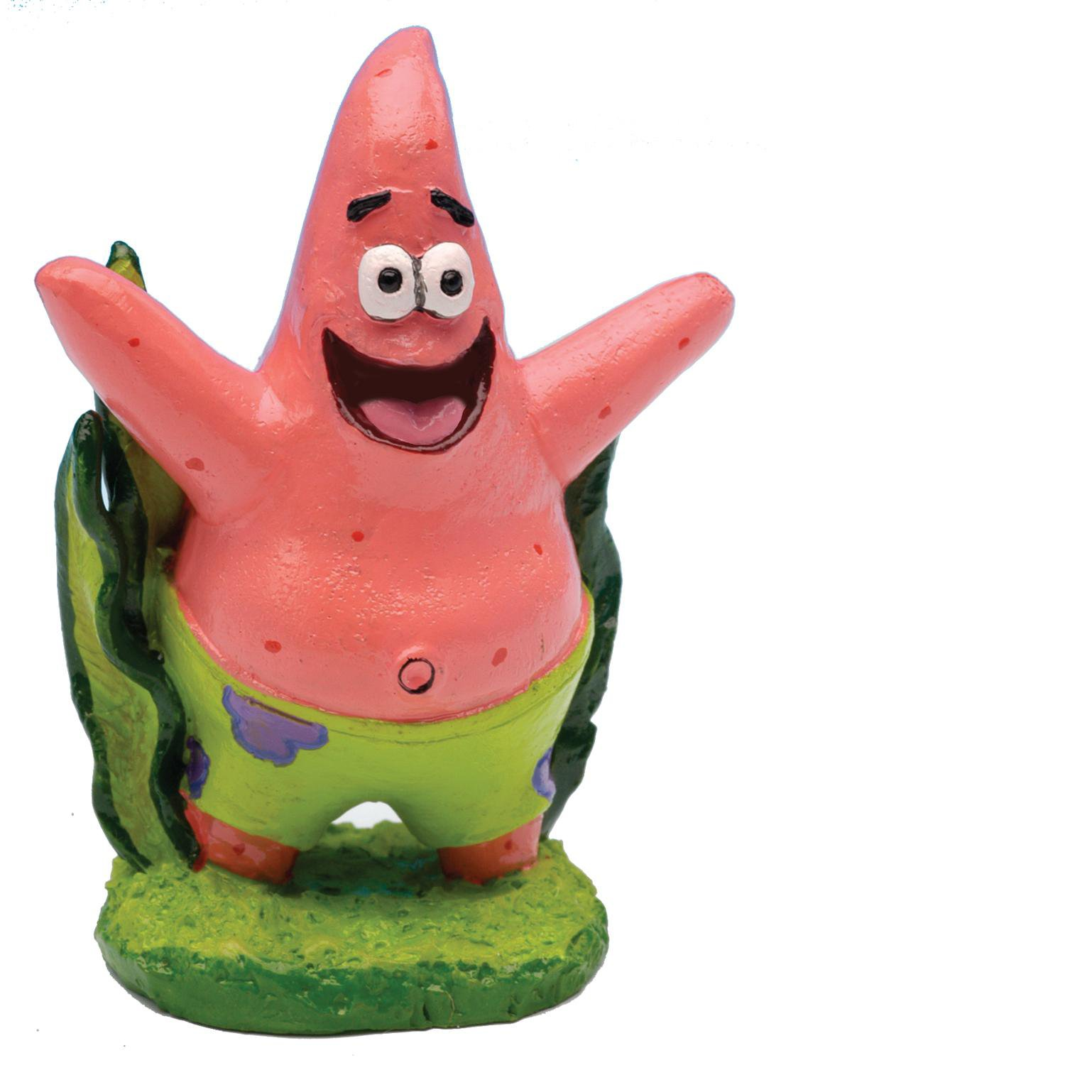 Penn Plax Spongebob Squarepants Patrick Aquatic Ornament