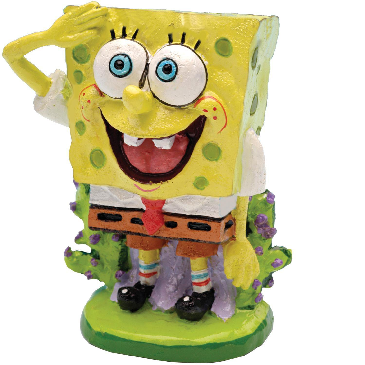 Penn plax spongebob squarepants aquatic ornament petco for Spongebob fish tank