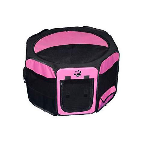 Pet Gear Pink Octagonal Pet Pen
