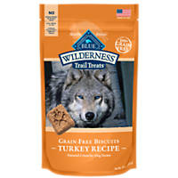 Blue Buffalo Wilderness Trail Treats Grain-Free Turkey Dog Biscuits