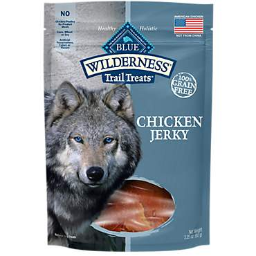 Blue Buffalo Blue Wilderness Trail Treats Chicken Jerky Dog Treats