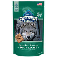 Blue Buffalo Wilderness Trail Treats Grain-Free Duck Dog Biscuits