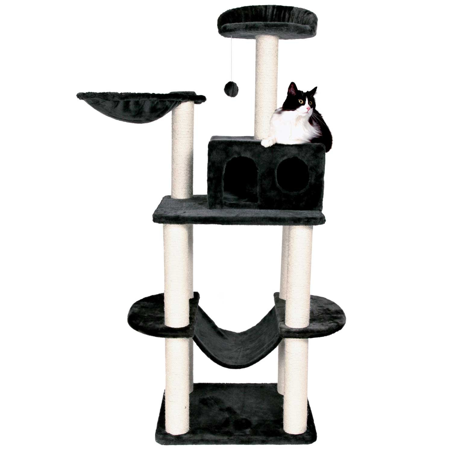 trixie dreamworld tarragona cat tree   petco  rh   petco