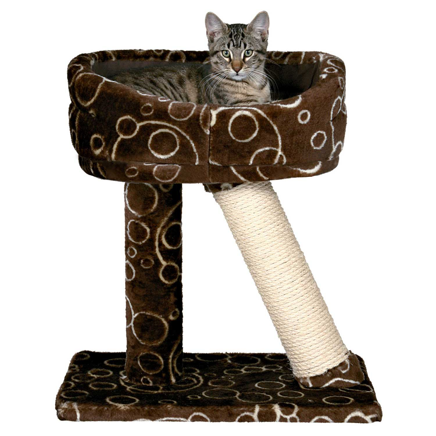 trixie dreamworld cabra cat scratching post u0026 bed