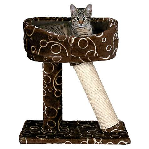 Trixie Dreamworld Cabra Cat Scratching Post Bed Petco