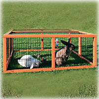 Trixie Natura Rabbit Hutch Enclosure