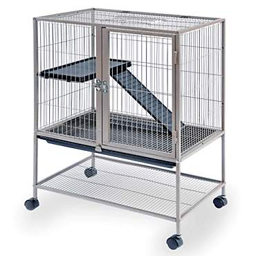 Prevue Pet Products Cocoa Frisky Ferret & Rabbit Cage