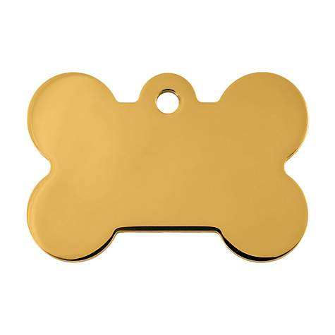 Bone Personalized Engraved Pet Id Tag