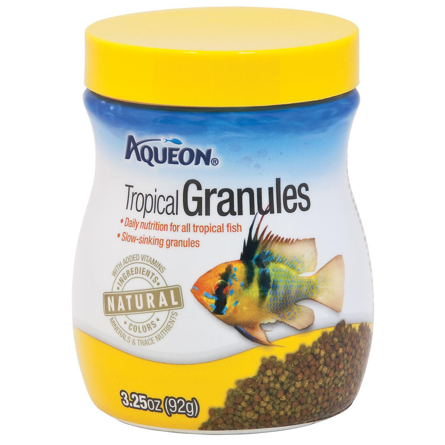 Aqueon Tropical Granules Tropical Fish Food 3.25 Oz.