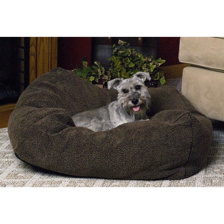K H Cuddle Cube Dog Bed In Mocha Petco