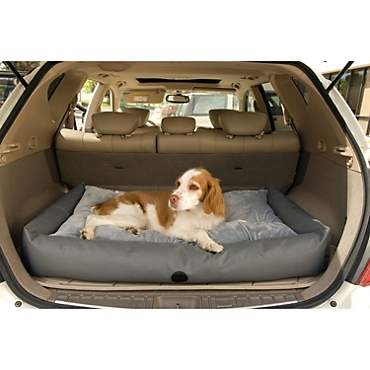 K&H Gray Travel & SUV Dog Bed