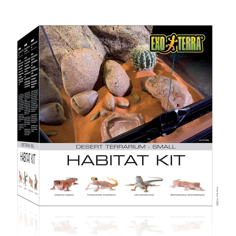 Exo Terra Desert Reptile Glass Terrarium Kit