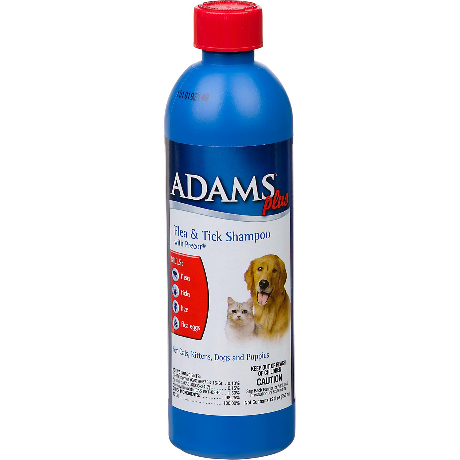 Adams Plus Flea Tick Shampoo With Precor For Dogs And Cats Petco