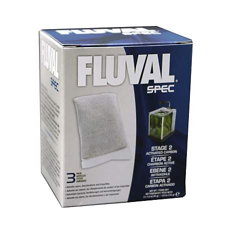 Fluval spec carbon replacement packs petco for Petco fish tank filters