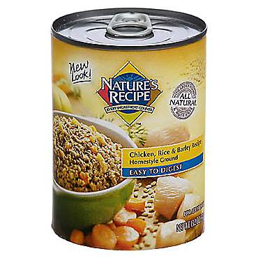 Nature's Recipe Easy to Digest Chicken, Rice & Barley Formula Canned Dog Food
