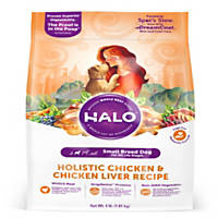Halo Spot's Stew Chicken Recipe Toy & Small Breed Dog Food