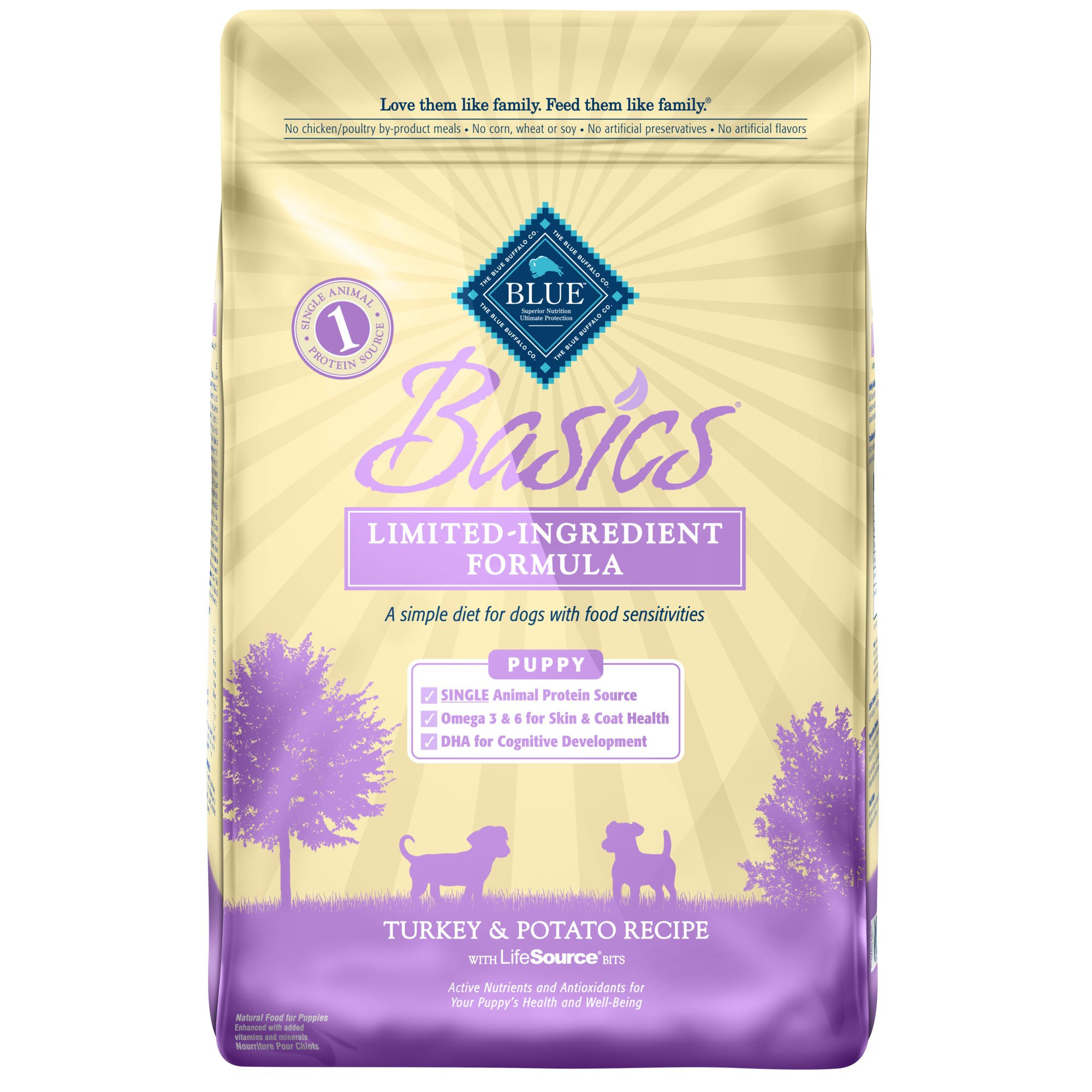 blue dog food for puppies