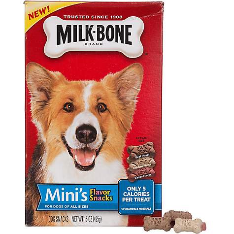 Milk-Bone Mini's Flavor Snacks Dog Treats