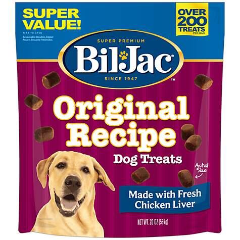 Bil Jac Original Chicken Liver Dog Treats Petco