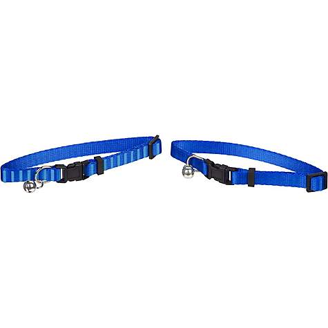 Good2Go Blue Cat Collar, 2-Pack