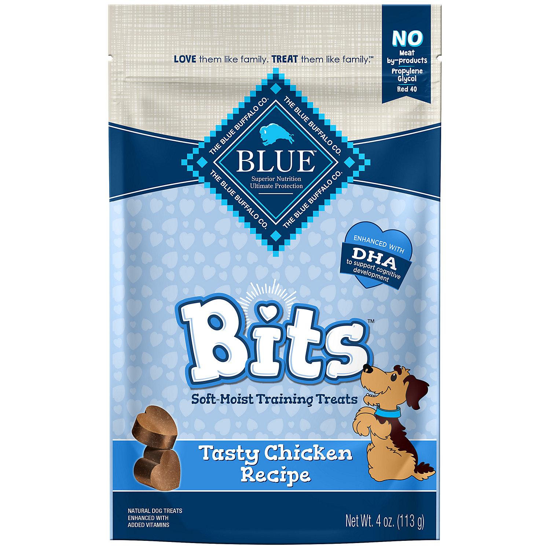 Blue Buffalo Blue Bits Chicken Dog Training Treats 4 Oz.