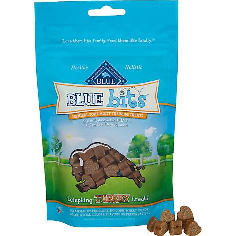 Blue Buffalo Blue Bits Tempting Turkey Soft-Moist Training Dog Treats